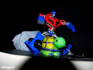 Optimus Prime Animated Series, Koleksi Pribadi Bangpay